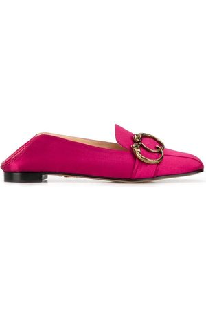 Charlotte Olympia Loafer aus Satin