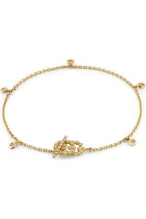 Gucci Damen Uhren - GG Armband mit Diamanten