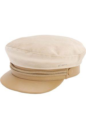 DON Velvet & Leather Sailor Cap
