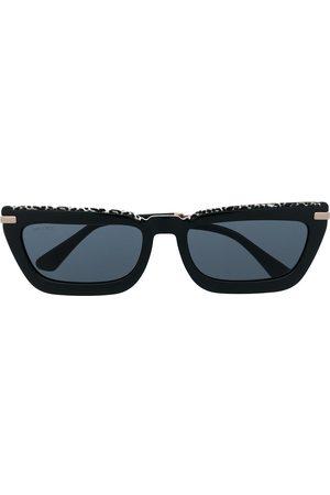 Jimmy Choo Eckige Sonnenbrille