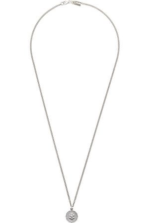 EMANUELE BICOCCHI Halskette mit Totenkopfanhänger