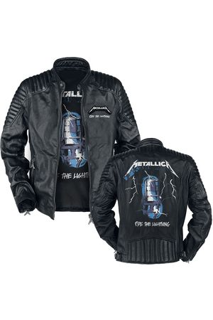 Metallica Ride The Lightning Lederjacke