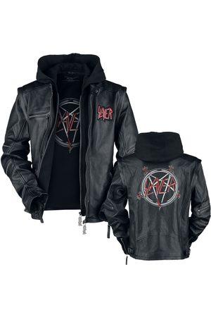 Slayer Pentagram Lederjacke