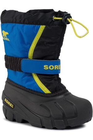 sorel Schneeschuhe - Childrens Flurry NC1965 Black/Super Blue 014