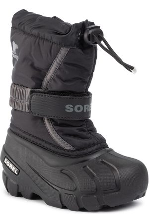 sorel Schneeschuhe - Childrens Flurry NC1695 Black/City Grey 016