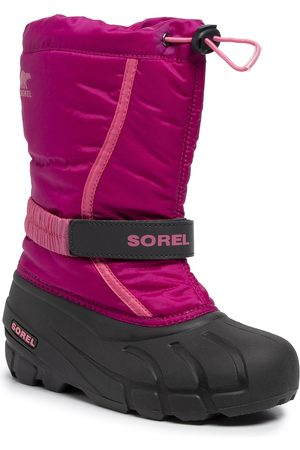 sorel Schneeschuhe - Youth Flurry NY1965 Deep Blush/Tropic Pink 684
