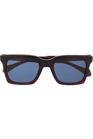 HUGO BOSS Sonnenbrille mit eckigem Gestell