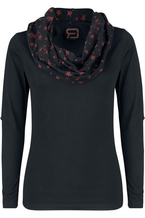RED by EMP Damen Longsleeves - Up The Neck Langarmshirt