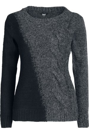 Black Premium by EMP Living In The Storm Girl-Sweat-Shirt /