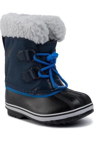 sorel Schneeschuhe - Childres Yoot Pac Nylon NC1962 Collegiate Navy/Super Blue/Bleu Marine Style Universitaire/Ultra Bleu 465