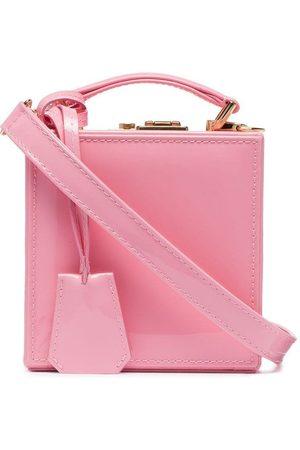 Natasha Zinko Box-Tasche aus Lackleder