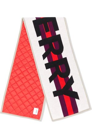 Burberry Kids Contrast logo scarf
