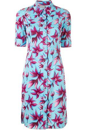 VERSACE Damen Freizeitkleider - Hemdkleid mit Blumenmuster