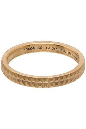 Le Gramme Herren Ringe - Guilloché' Ring