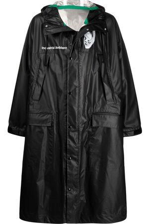 UNDERCOVER Mantel mit rückseitigem Print