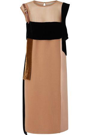Burberry Kleid mit Einsätzen