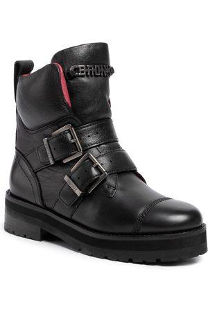 Bronx Damen Stiefeletten - Stiefeletten - 47196-G BX1607 Black 01