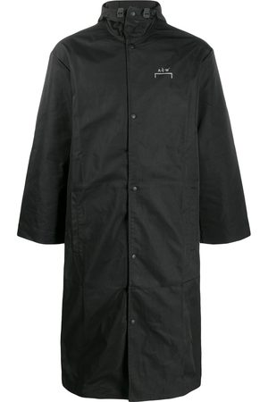 A-cold-wall* Logo hooded raincoat
