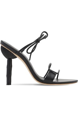 Cult Gaia 100mm Malia Leather Sandals