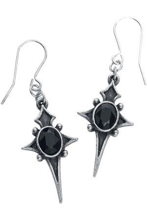 Alchemy Sterne Leben Earrings Ohrhänger silberfarben