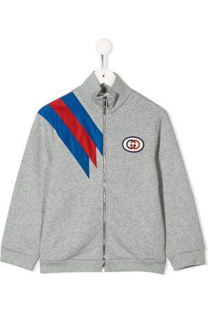 Gucci Jungen Sweatshirts - Sweatshirtjacke mit Logo