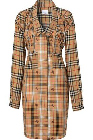 Burberry Hemdkleid mit Vintage-Check