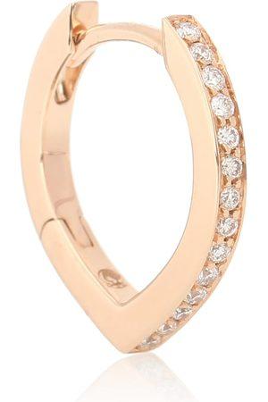 Repossi Einzelner Ohrring Antifer aus 18kt Rosé mit Diamanten