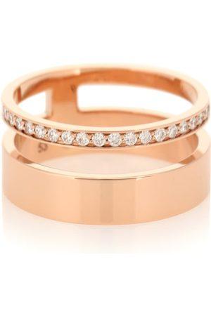 Repossi Ring Berbere Module aus 18kt Rosé mit Diamanten
