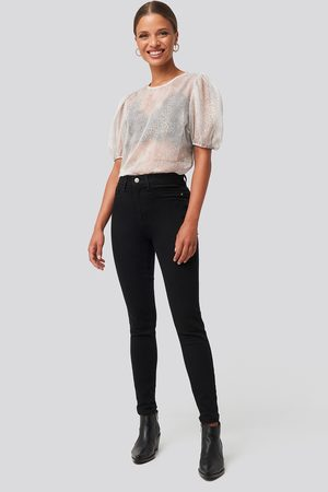 Trendyol Damen High Waist Jeans - Yol High Waist Jeggings - Black