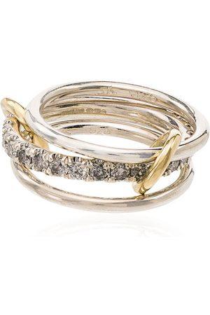 Spinelli Kilcollin Damen Ringe - 18kt 'Y' Gelbgoldring mit Diamanten