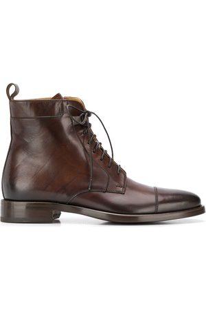 Scarosso Herren Stiefel - Stiefel mit Schnürung