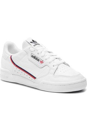 adidas Herren Halbschuhe - Schuhe - Continental 80 G27706 Ftwwht/Scarle/Conavy