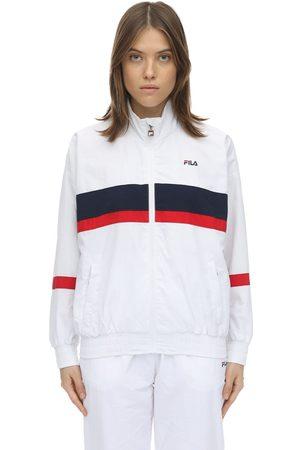 Fila Trainingsjacke Aus Nylon Mit Logo Und Zip