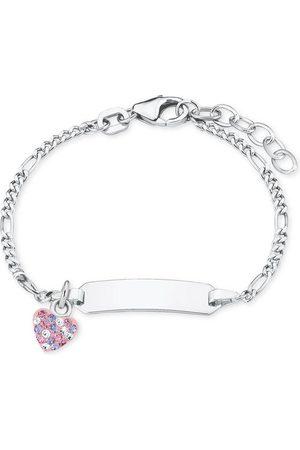 Prinzessin Lillifee Ident-Armband mit Herz, Sterling 925, 2021115