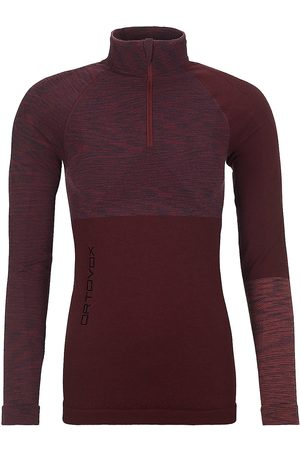 ORTOVOX Merino Comp Zip Neck Tech Tee LS