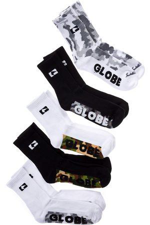 Globe Herren Socken & Strümpfe - Malcom Crew 7-11 5Pk Socks