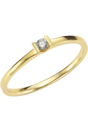 Orolino Ring 585/- Gelbgold Brillant, 53