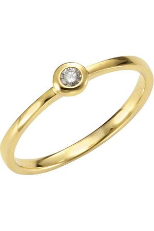 Orolino Ring 750/- Gelbgold Brillant, 55