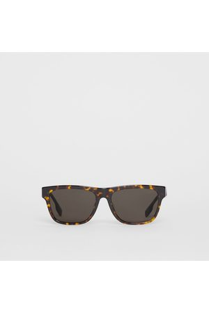 Burberry Herren Sonnenbrillen - Eckige Sonnenbrille, Brown