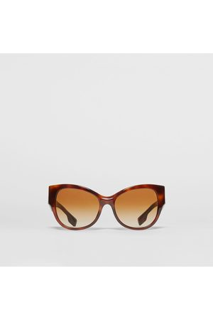 Burberry Butterfly-Sonnenbrille, Brown