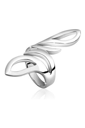 Nenalina Ring Wickelring Basic Statement Struktur 925 , 54 mm
