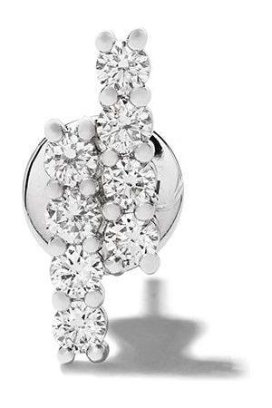 ALINKA 18kt 'Riviera' Weißgoldohrring mit Diamanten