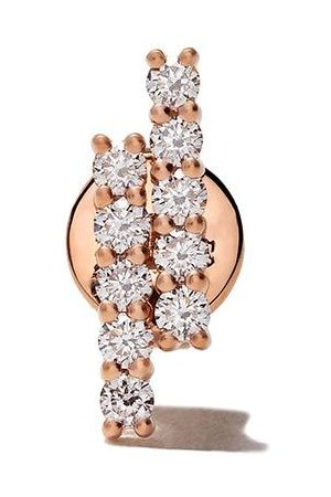 ALINKA 18kt 'Mala' Rotgoldohrring mit Diamanten