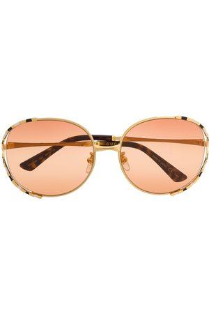 Gucci Sonnenbrillen - Gestreifte Sonnenbrille