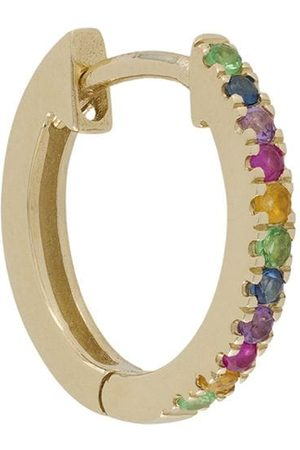 Otiumberg 9kt 'Rainbow' Gelbgoldcreolen