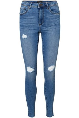 Vero Moda Vmtanya Normal Waist Slim Fit Jeans Damen