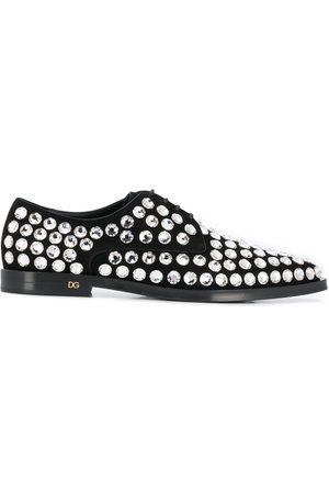 Dolce & Gabbana Verzierte Derby-Schuhe