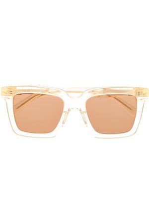 Bottega Veneta Eyewear Sonnenbrille mit eckigem Gestell