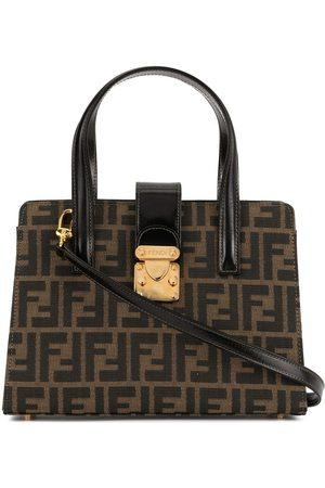 Fendi Pre-Owned Damen Handtaschen - Handtasche mit Zucca-Muster