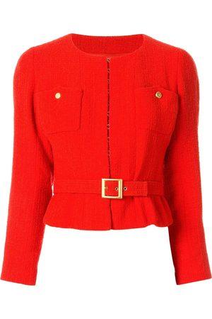 CHANEL Damen Jacken - 1996 Tweed-Jacke mit Gürtel